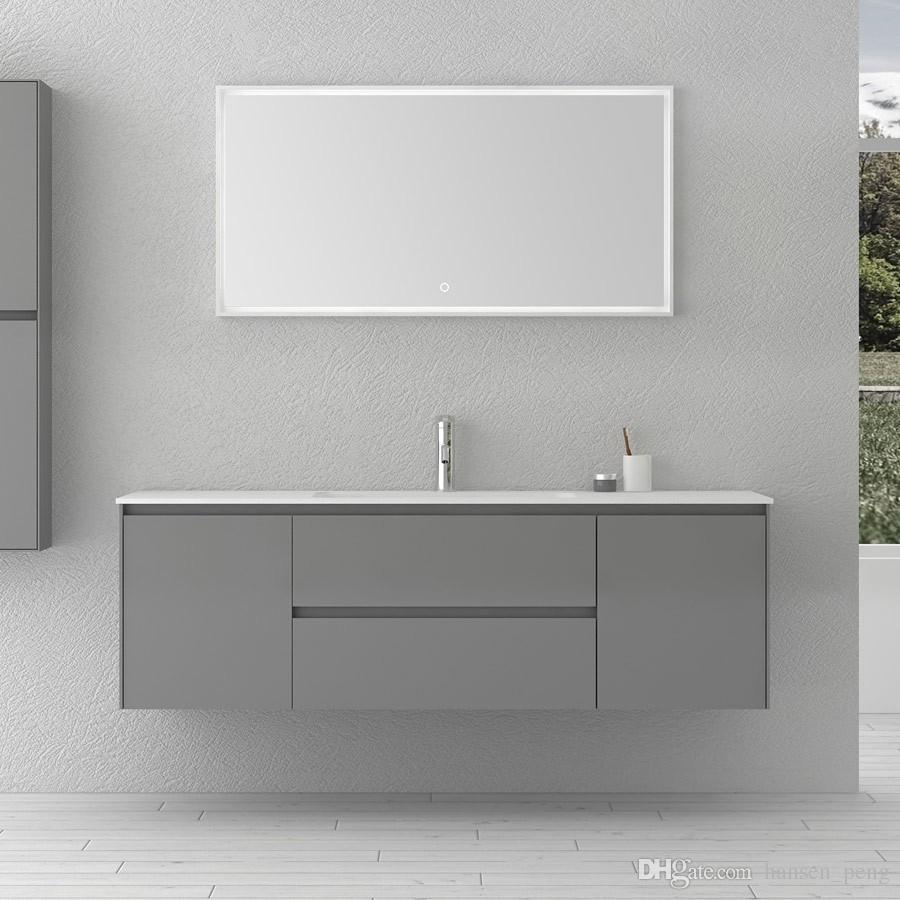 standing vanity