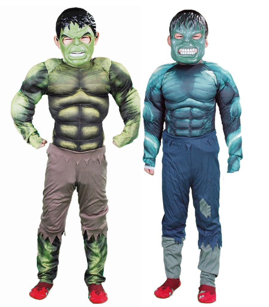 2018 Hulk Avengers Classic Muscle Movie Cartoon Characters Child ...