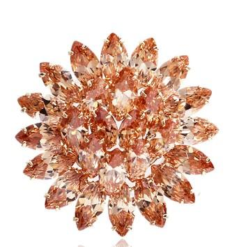 более цвет Алмаз цветок женщины; s брошь (3.5*3.5 см ((myyhmz)