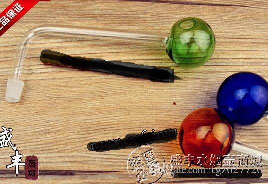 Бесплатная доставка Оптовая кальян аксессуары-кальян аксессуары [расширенный под прямым углом к большому цветному горшку], цвет случайная доставка, la
