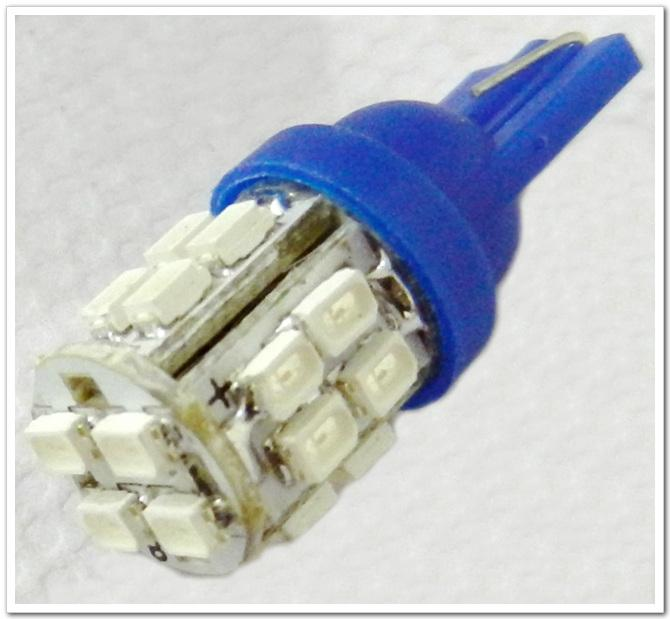 Free Shipping 100pcs 20 SMD T10 W5W 20 LED 501 194 168 Car Side Light Wedge Bulb Lamp 12V