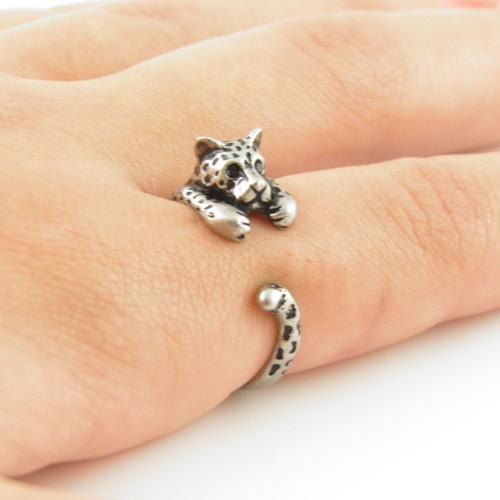 il tiger black silver rings listing bright au ring white gold