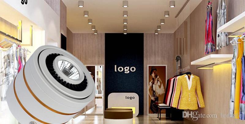 COB LED da incasso 5W 7W con LED Driver New Modern Surface montato Plafoniere da soffitto Bianco caldo Cool white CE ROSH 2 anni di garanzia
