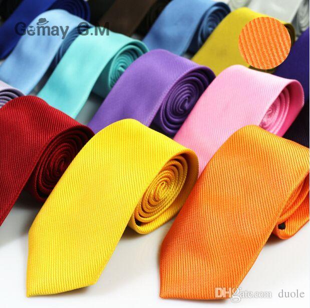 Stripe tie 145*8cm 30 Colors Occupational Arrow solid color NeckTie Men's Tie for Father's Day Men's business tie Christmas Gift