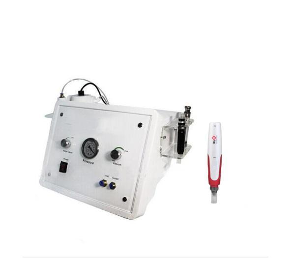 2 일 1 hydra 피부 껍질 크리스탈 microdermabrasion 얼굴 기계 판매 + 한국 MYM 전기 더 마 펜 미세 바늘 치료