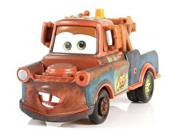 2020 100 Original Pixar Cars 2 Mater 95 Trailer Rare Diecast