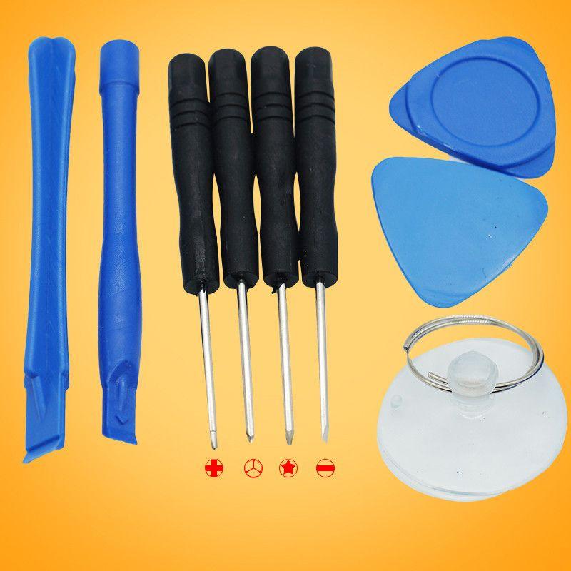 Repair Pry Kit 8 in 1 9 in 1 Opening Tools Set for 5 포인트 아이폰 용 Pentalobe Torx 스크루 드라이버 교체 도구