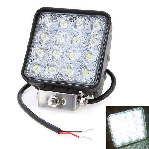 10pcs / lot Promo Promotoion! 4,5 lumière de voiture de faisceau d'inondation LED de lumière de travail d'inondation de lumière de travail de 12V 24V de pouce de 48W pour des travaux de la route d'utilisation LED s'allume pour des camions