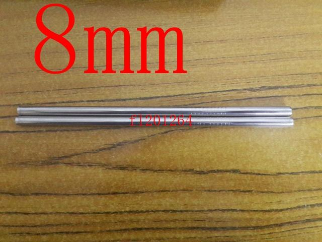 """Frete Grátis 8mm * 215mm (8.5 """") Canudo Palhinha Em Aço Inoxidável Em Linha Reta Palha Eco-Amigável Com slot, 1500 pçs / lote"""