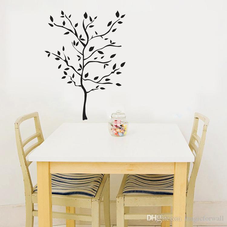 schwarz groe baum landschaft wandtattoo wohnzimmer schlafzimmer kreative tapeten dekor poster abnehmbare baum wand - Wandtattoo Wohnzimmer Baum