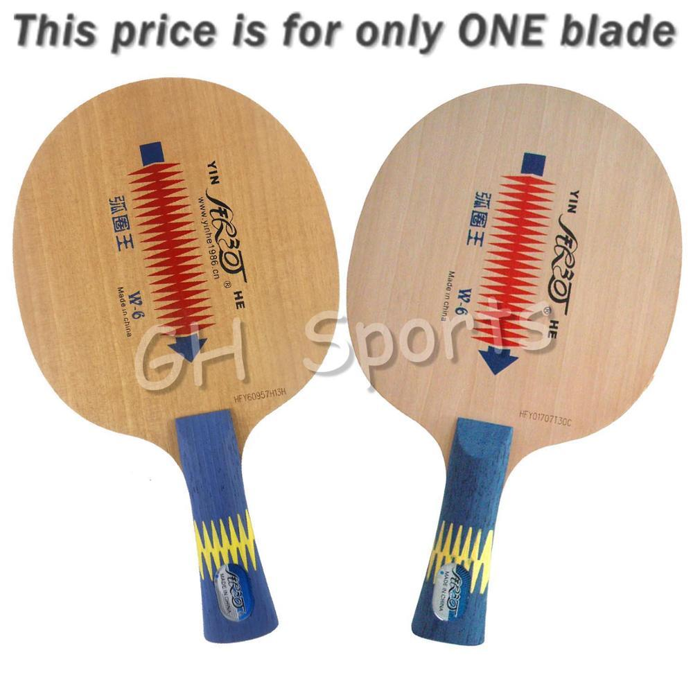 Wholesale- Galaxy Milky Way Yinhe W-6 W 6 W6 Loop King Table Tennis Blade for PingPong Racket