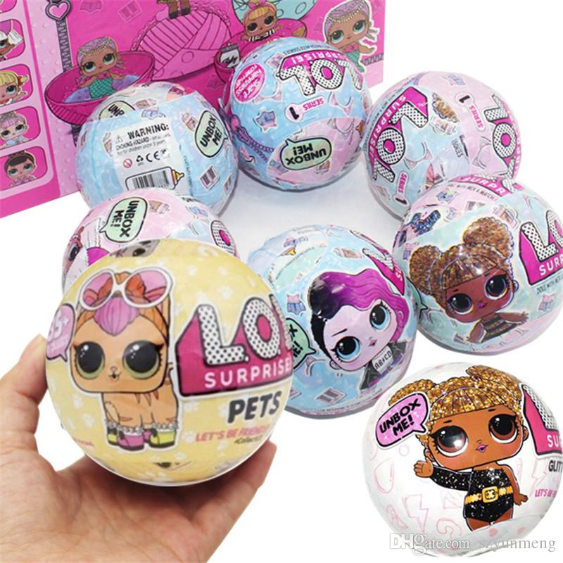 Funny Lol Surprise Doll Open Eggs Dolls Ball Children Anime Action Figure Kids Toys Fun Surprise Egg Toy030 Top Toys Christmas Christmas Toy Charities From Szyunmeng 3 84 Dhgate Com