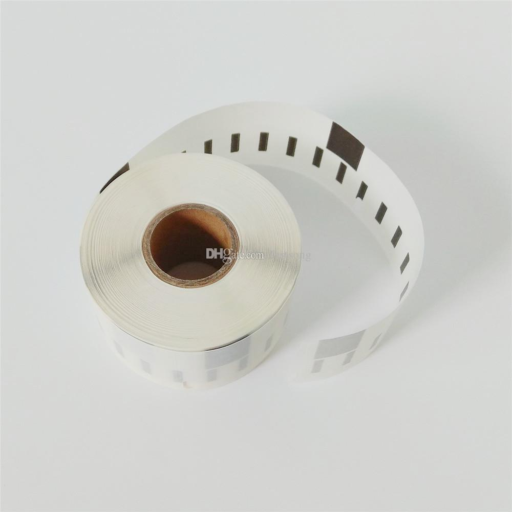 12 x Rolls Dymo 99013 DYMO99013 Etiquetas de endereço claras 100% compatível plástico especial rótulos térmicos 400 450 Turbo