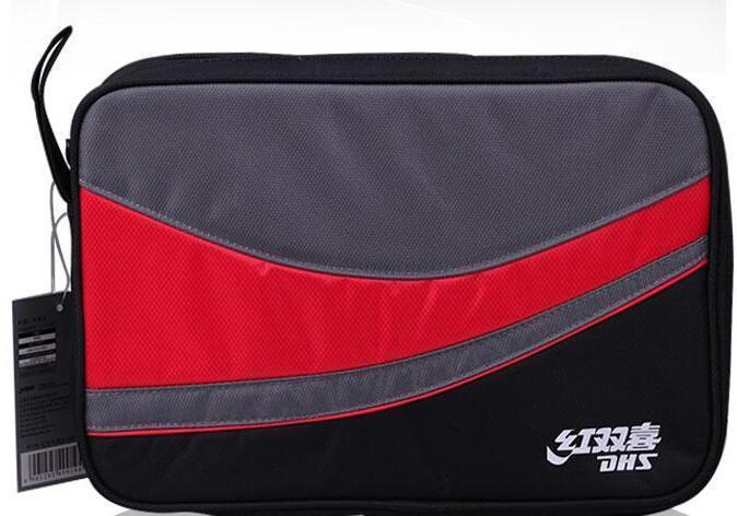 DHS double happiness RC109 RC110 square table tennis pats bag double set of Oxford cloth