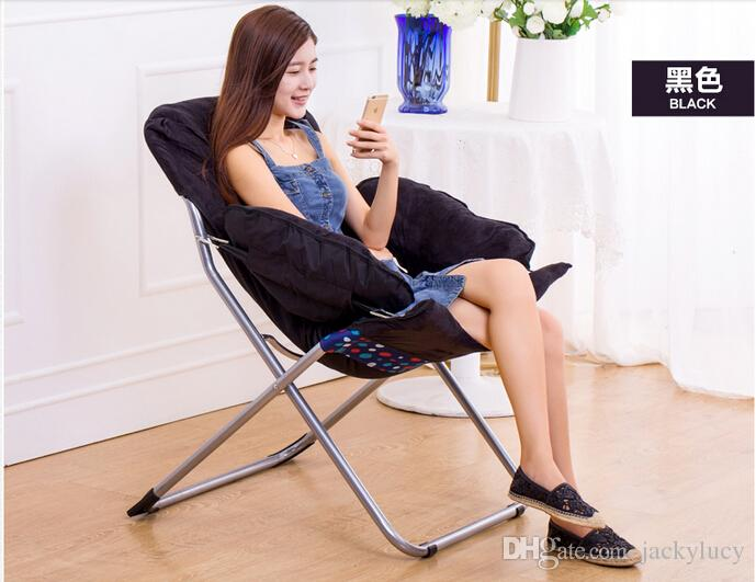 ... Fashion Foldable Living Room Computer Chair Soft Furniture Sofa Leisure  Chairs For Kids Women Best Gifts - Bedroom Furniture Wholesaler Jackylucy Sells Fashion Foldable
