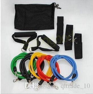 in Fitness Resistance Bands Exercise Tubes Practical Elastic Training Rope Yoga Pull Rope Pilate Workout Cordage CCA1520