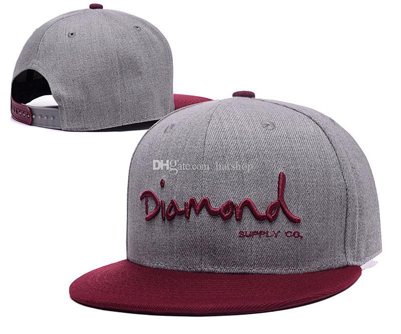 style été diamant 5 panneau chapeau chapeau classique strapback os diamant cinq panneau snapback gorro hip hop chapeaux pour hommes femmes