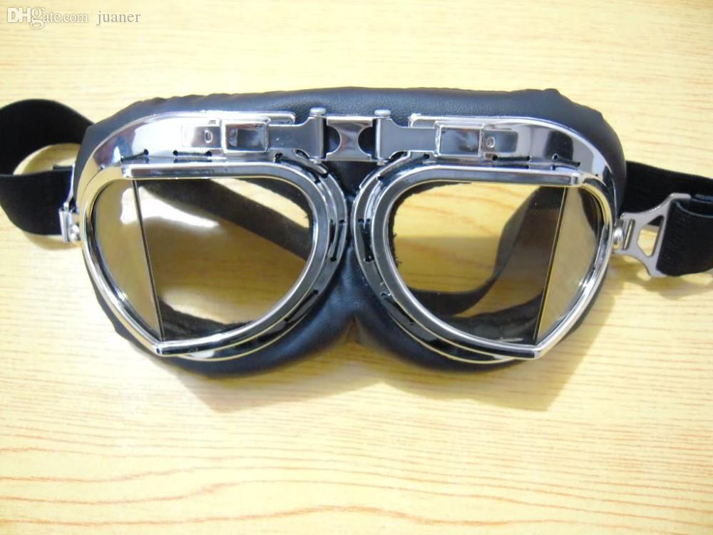 Occhiali di protezione di sicurezza dei vetri della motocicletta del motorino del motociclo del casco dell'ingranaggio del popolare all'ingrosso Goggle trasporto libero di goccia di trasporto
