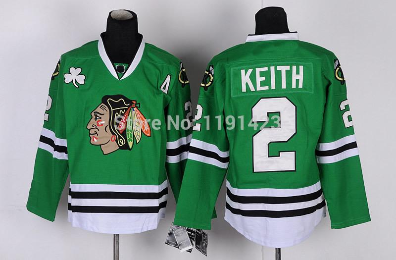 15-Cheap Chicago Blackhawks Hockey Jerseys Duncan Keith Jersey #2 Home Red Road White Third Black Green Stitched Jerseys A Patch_3.jpg