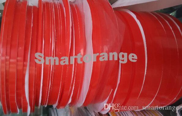Adesivo nastro adesivo trasparente a doppia faccia, resistente al calore, biadesivo, 25m, larghezza 1mm, 2mm, 3mm, 5mm