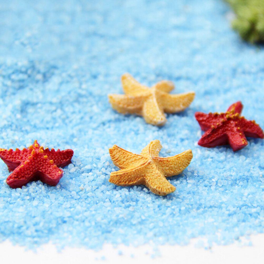 10 Adet Bonsai Heykelcik Peri Bahçe Dekorasyon Denizyıldızı Minyatürleri Mikro Manzaralar Reçine El Sanatları Bahçe Teraryum Aksesuarları