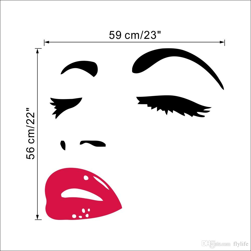 Audrey Hepburn Wall Art sexy woman audrey hepburn wall art stickers decal diy home