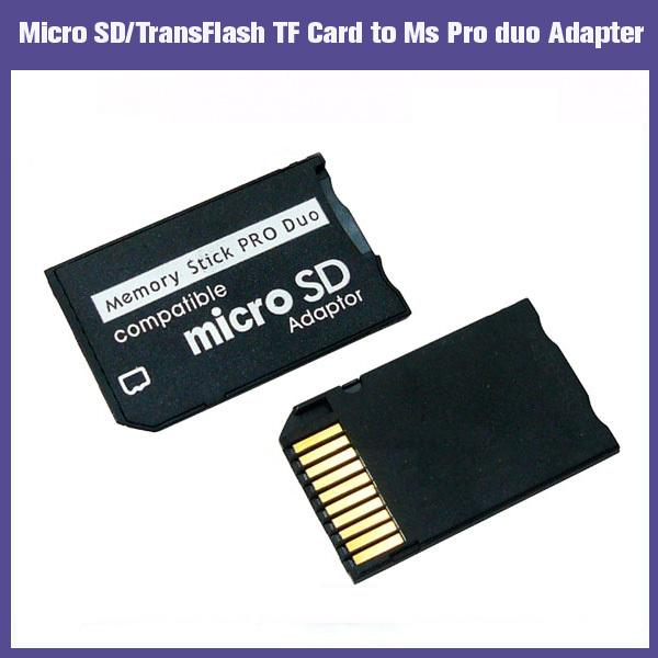 Micro SD TF Card Reader Adapter Converter for 2GB 4GB 8GB 16GB SDHC