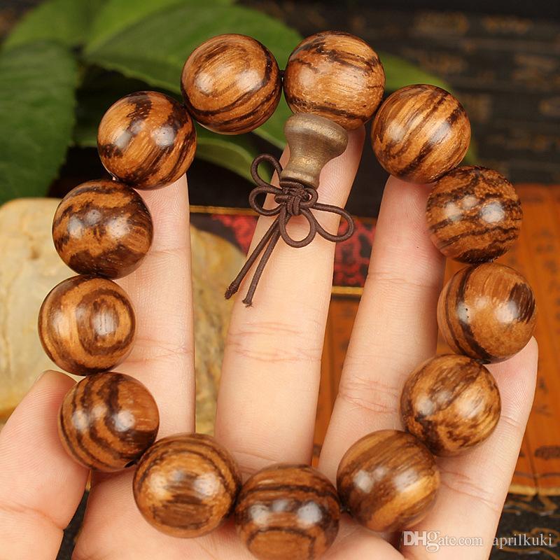 Будда молитва природных Вьетнам благовония браслеты из бисера Тибетский буддист мала Будда браслет Рождественский подарок для мужчин женщин