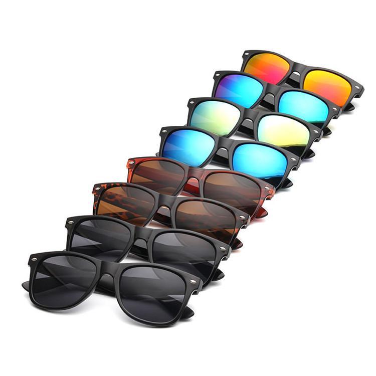 YENI Güneş Gözlüğü Erkekler Kadınlar Güneş Gözlük Blok Spor Gözlük Moda Oculos Gafas De Sol Masculino 8 Renkler 12 Adet / grup