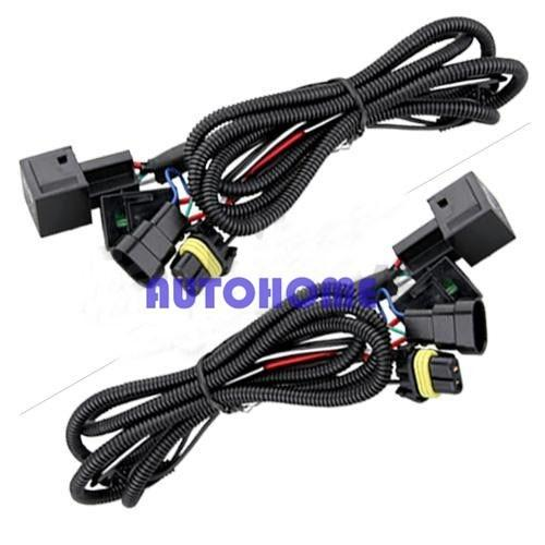 Xenon HID Conversion Relay Wiring Harness H11 9005 9006 (2)