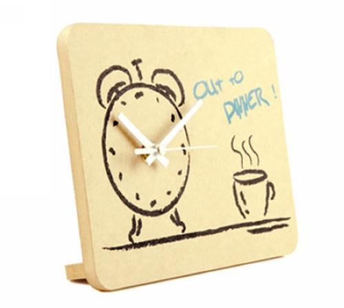 [New Arrival] [Hot Sale] Mute Bedside Alarm Clock Digital Square New Classic