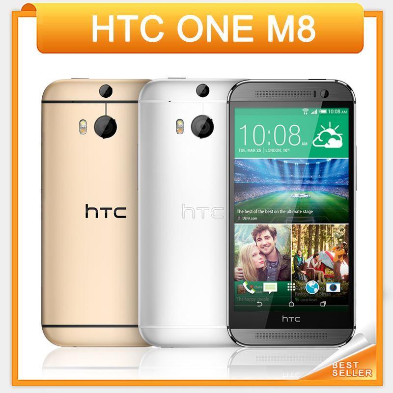 "Unlocked HTC ONE M8 Original Mobile Phone 5.0"" Quad Core 2GB RAM 16GB/32GB ROM 4G Android Cellphone"