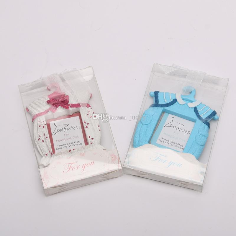 9*7 Cm Cute Baby Photo Frame Wedding Favor Baby Shower Theme Resin ...