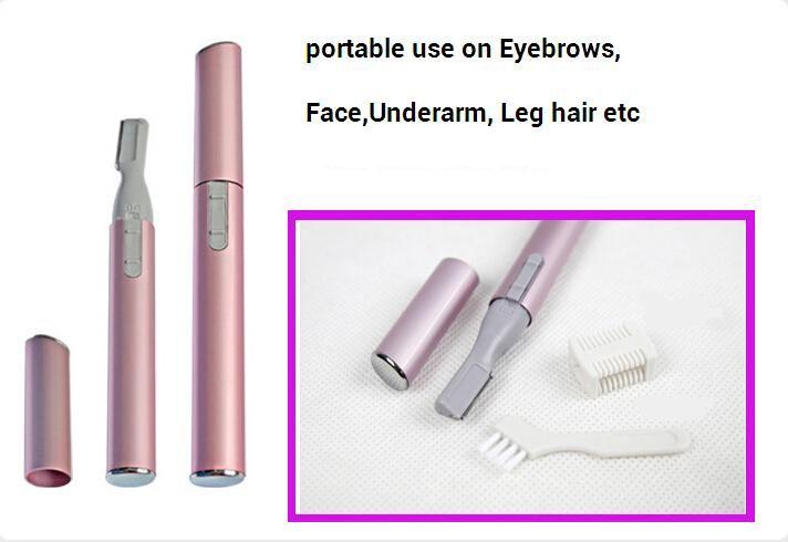 Lady Cordless Tweezers women Body Facial Hair Remover eyebrow Trimmer haircut Shaver Razor Epilator bikini body hair removal cutter