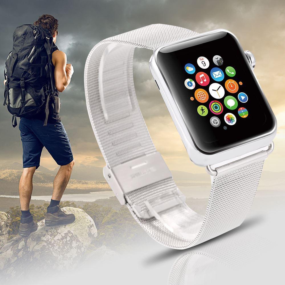 애플 아이폰 iWatch 최고 품질의 경우 애플 시계 밴드 38mm의 42mm 손목 팔찌 버클 버클 스트랩 스테인레스 스틸 시계 밴드