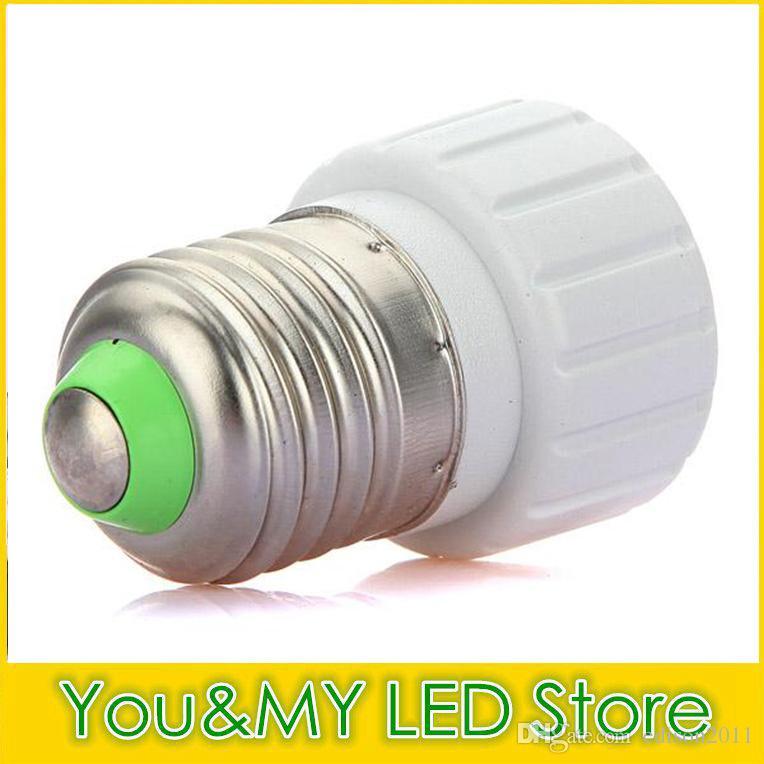 Edison2011 Lampeninhaber Basen für LED Birnenlicht umgewandelt E27 B22 E14 an GU10 Adapter Umrichterhalter Beleuchtung Zubehör Neue Ankunft