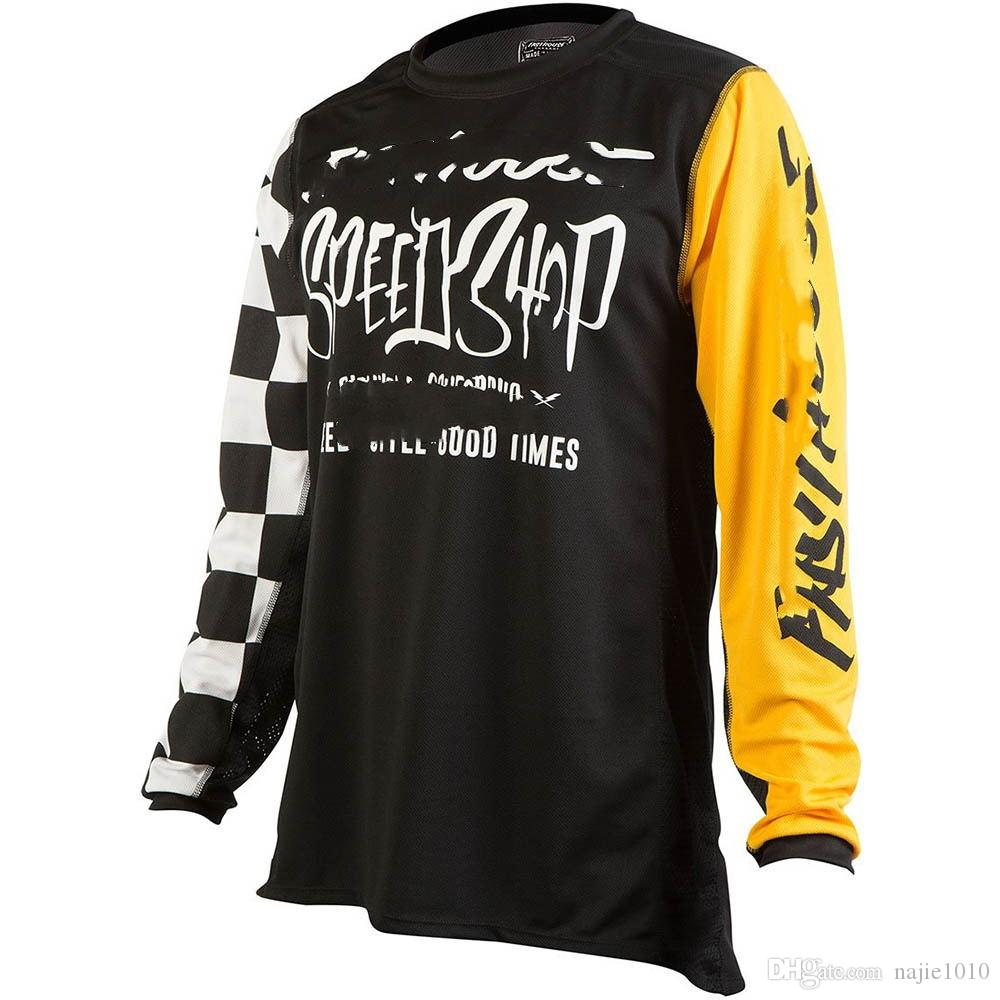 2018 Men Off-road motocross Cycling Jersey Super Breathable Summer Bicycle Short Clothing Ropa Sportwear Bike Clothes Outdoor&Sport