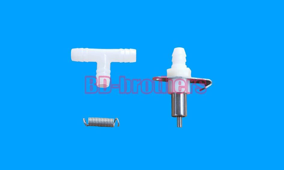 LA 8mm fine copper Stainless Steel Rabbit Drinker Waterer with Spring and Tee Coupling Automatic Drinker for Rabbit Poultry 800sets/lot