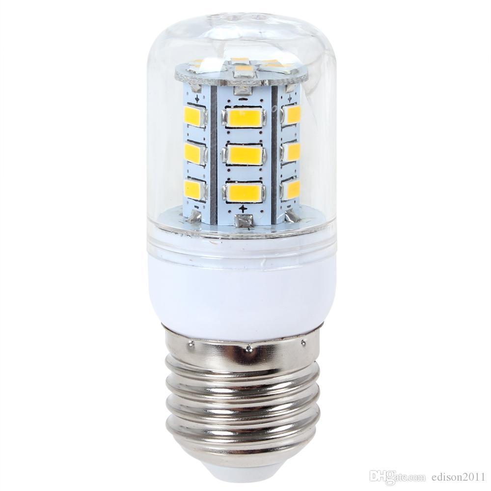 Edison2011 Lámpara LED 5730 SMD 110V 220V Bombilla de luz de maíz E27 E14 Luz de decoración del hogar Fluorescente de la bombilla