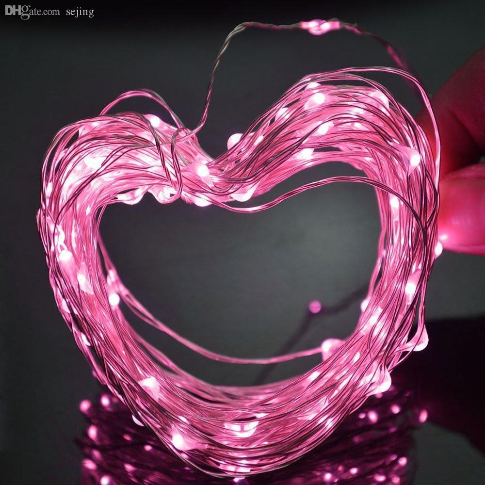 Venta al por mayor-2.5M 700 luces de cadena LED Decoración LED de alambre de plata Luces de cadena de hadas Lámparas para la fiesta de boda de vacaciones de Navidad