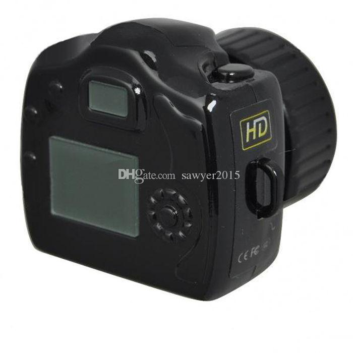 Smallest camera Mini DV Y2000 HD MINI Video Camera DVR Y3000 Small Mini Pocket DV DVR Camcorder digital video Recorder