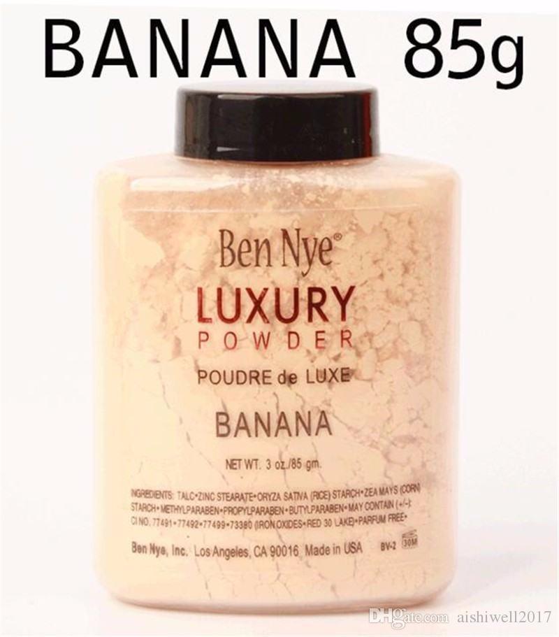 بن ناي LUXURY POWDER POUDER de LUXE Banana Loose Makeup powder 3oz / 85g 120pcs