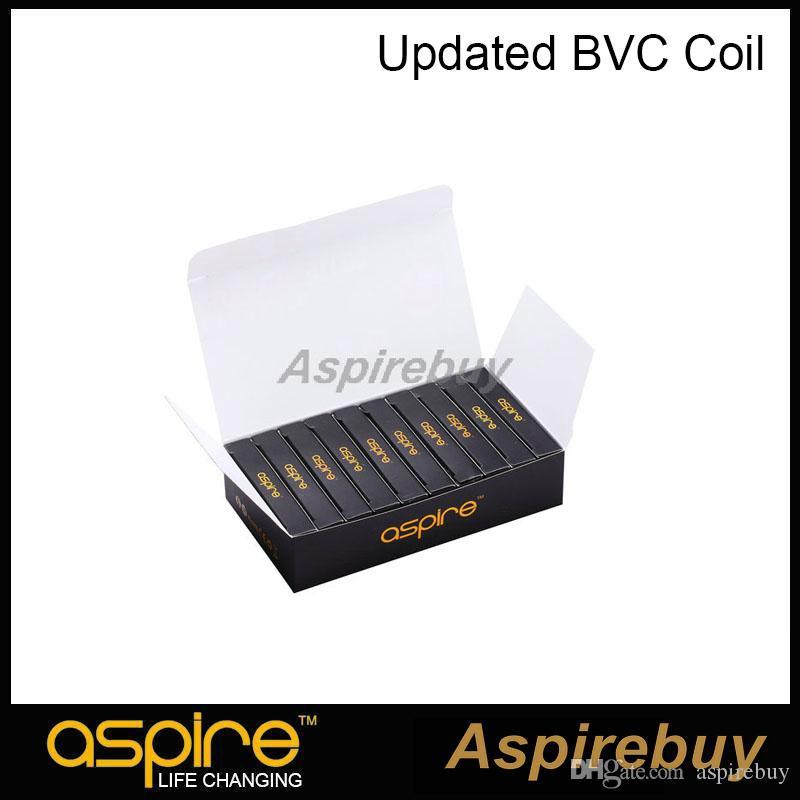 100% Authentic Aspire Aspire BVC Coils Dual Coils for Aspire CE5 CE5-S ET ET-S Clearomizer BDC updated coil Electronic Cigarette