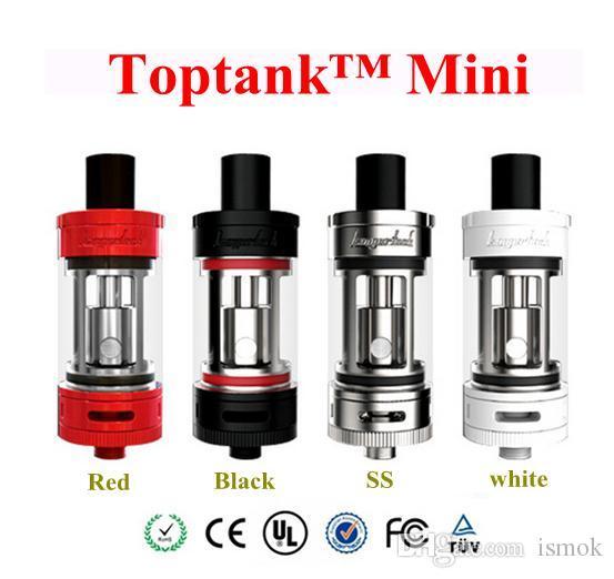 Kanger Toptank Mini Atomizer Single Pack 4Colors Top Filling Toptank Mini Tank with SSOCC Coils for Topbox Subvod Mega TC Kits Subtank