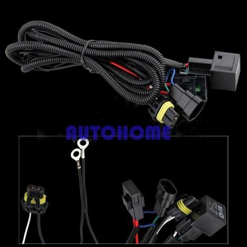 Xenon HID Conversion Relay Wiring Harness H11 9005 9006 (1)