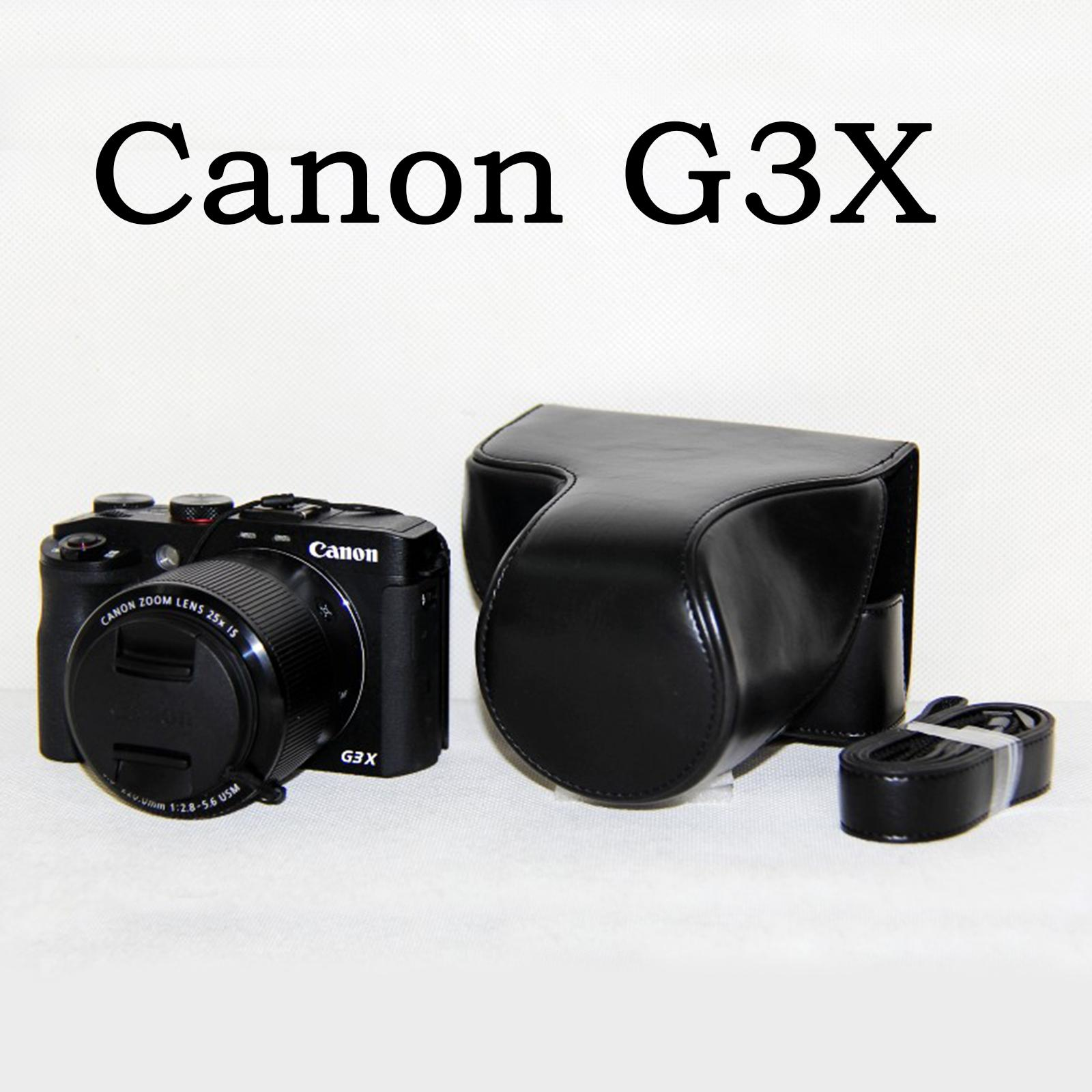 Pu Leder Kamera Schultergurt Gurtband der Schulter für Canon EOS PowerShot
