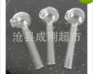 2016 olla recta de vidrio asado tubos de vidrio accesorios Hookah