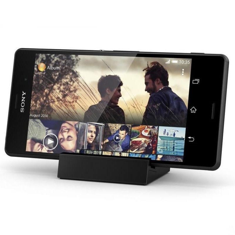 Sony Xperia Z3のためのDK48D磁気充電充電式駅ホルダーZ3