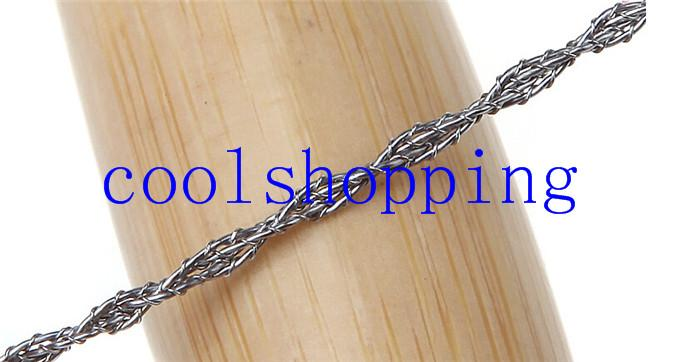 DHL Freeshipping Outdoor Plastic Ring Steel Wire Saw Scroll Emergency for Hunting Camping Hiking Survival Tool
