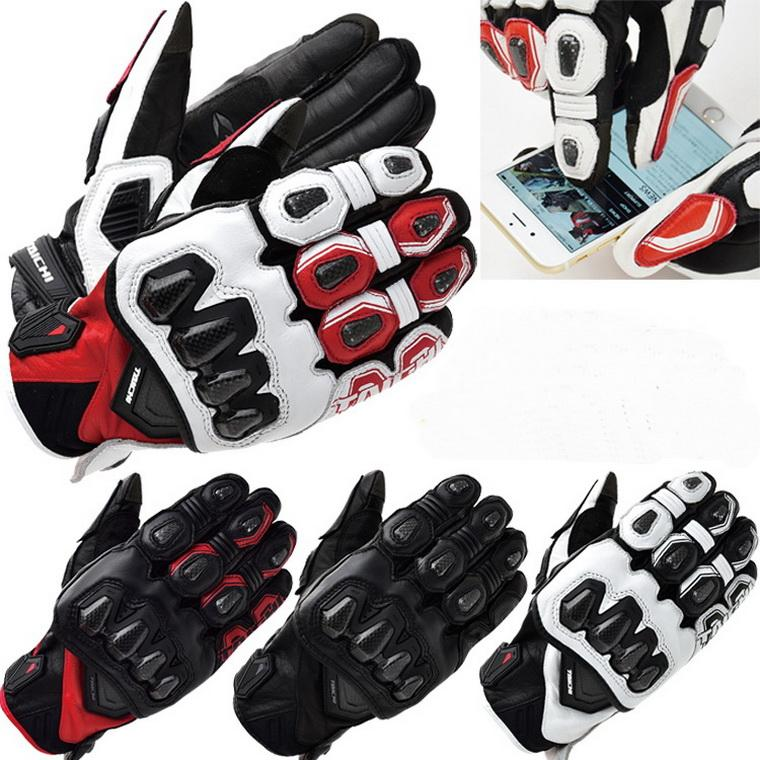 2016 New RS TAICHI 422 Spring Leather Carbon Fiber Moto